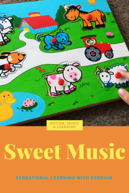 Sweet Music - Autism, music & learning - Sensational Learning with Penguin