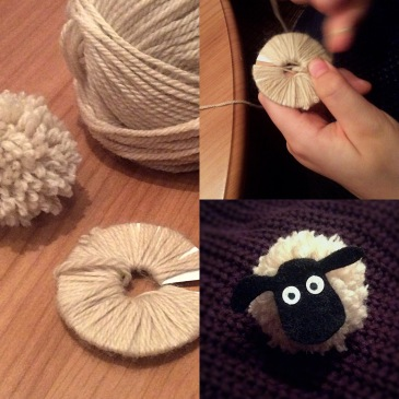 Shaun the Sheep style Pom-Poms! - Sensational Learning with Penguin Cute little craft project, fun for kids and great for fine motor skills. Perfect if you love #ShauntheSheep (who doesn't?!) ♥️