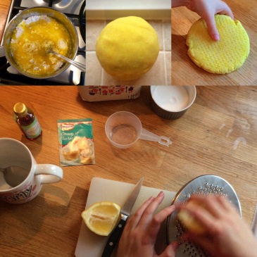 Making Homemade Real Lemon Playdough - Sensational Learning with Penguin