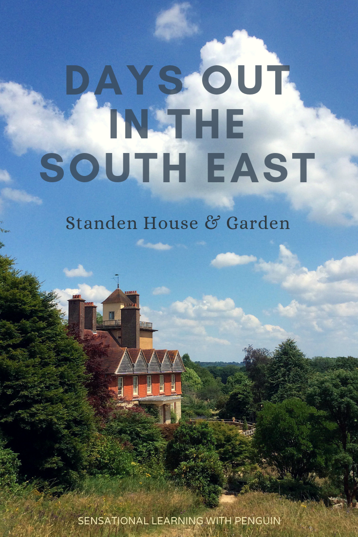Standen House & Garden is an Arts & Crafts Country Home in West Sussex, England. For more posts on Days Out in the South East, visit our blog at sensationallearningwithpenguin.com #daysout #architecture #nationaltrust