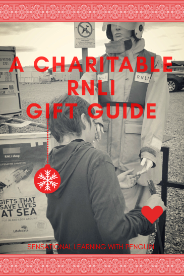 To honour the RNLI and in memory of the Mary Stanford crew, we've made a Christmas Gift Guide with items from the RNLI Online Shop! #Games #Toys #Sensory #HandsOnLearning #Educational #Outdoors #SeasideFun