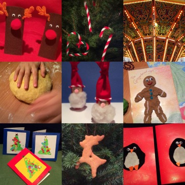 24 Activities to Enjoy with Your Child this Advent! For more, join us at http://sensationallearningwithpenguin.com