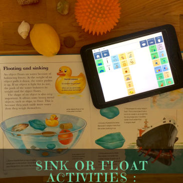 Sink Or Float Activities : Multisensory & Multifaceted Learning