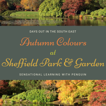 Autumn Colours at Sheffield Park & Garden, A Sensory Rich Day Out in Sussex! #NationalTrust #ExploringNatureWithChildren - Sensational Learning With Penguin