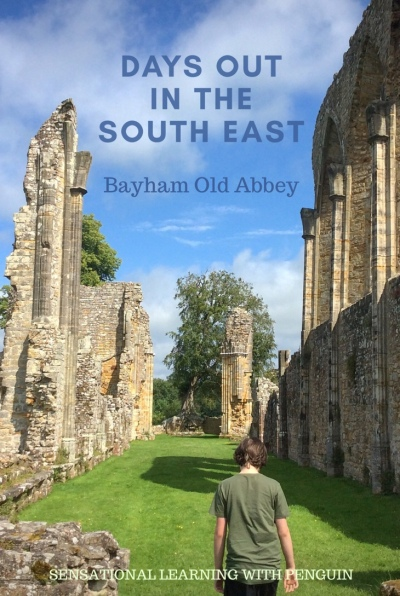Days Out In The South East: Bayham Old Abbey. sensationallearningwithpenguin.com