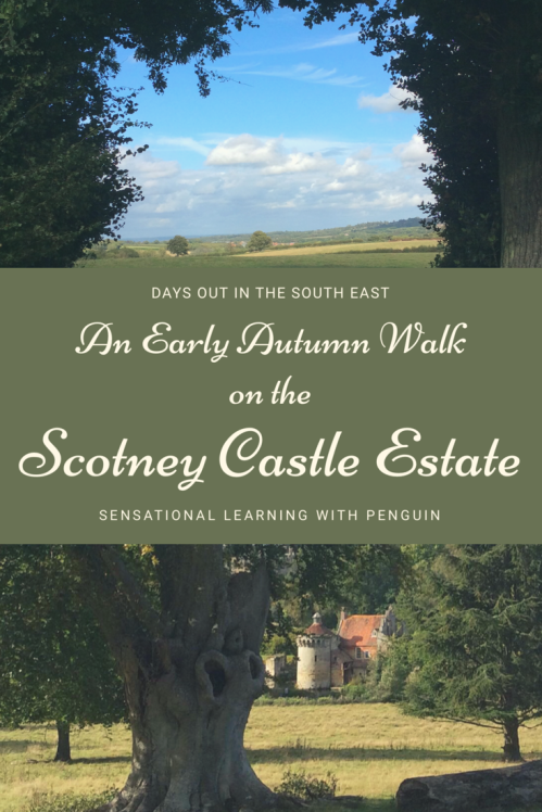 #DaysOut in the South East: An Early Autumn Walk On The Scotney Castle Estate #OutdoorLearning #Homeschooling #NationalTrust #Outdoorsy #Learning