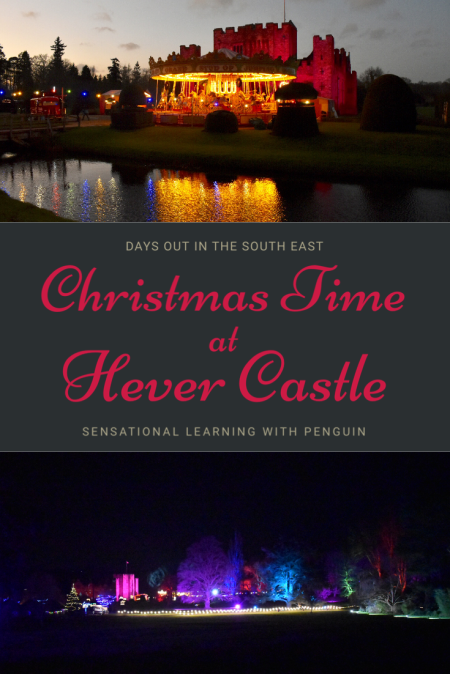 Days Out In The South East: Christmas Time At Hever Castle! sensationallearningwithpenguin.com