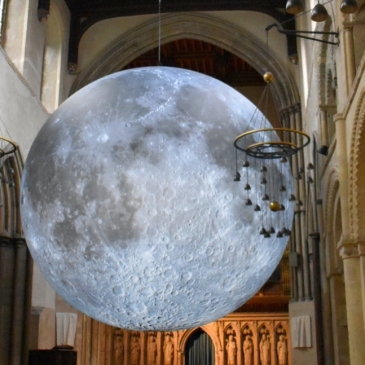 Museum Of The Moon At Rochester Cathedral! We visited #Rochester to see #MuseumOfTheMoon today, and it was a very special experience. #Moon #ExperientialLearning #LearningDifferences #DaysOut #Kent For more #learning adventures like this, visit us at sensationallearningwithpenguin.com - a blog about life, learning & #autism